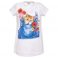 Monnalisa T-Shirt St. Gattino