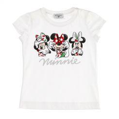 Monnalisa T-Shirt Stampata Minnie Maus