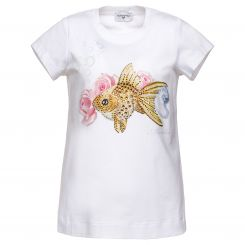 Monnalisa T-Shirt Magic Fish