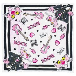 Monnalisa Tuch Schal Foulard Rock Pink Panther