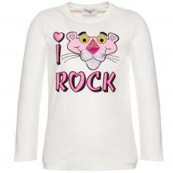 Monnalisa Langarmshirt Panther Rock