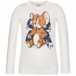 Monnalisa Langarmshirt T-Shirt St. Fiocco Stelle
