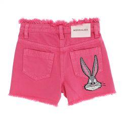 Monnalisa Shorts Fringed Galetta Bugs Bunny