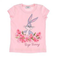 Monnalisa T-Shirt St. Tulipani Bugs Bunny