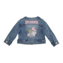 Monnalisa Jeansjacke Giacca Soft Jeans Dumbo
