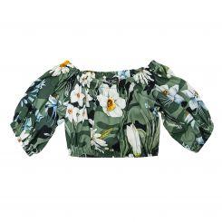 Monnalisa T-Shirt Top Frida Camouflage