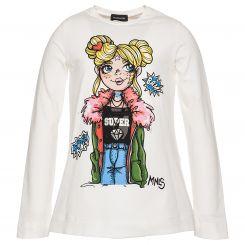 Monnalisa Langarmshirt T-Shirt St. Bambina