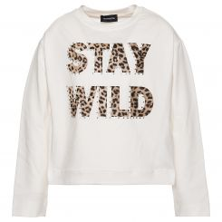 Monnalisa Langarmshirt St. Stay Wild