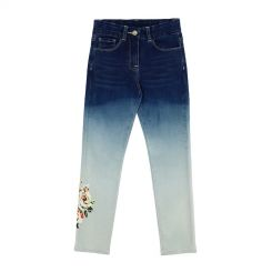 Monnalisa Jeans Denim Fashion Stampa
