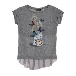 Monnalisa T-Shirt St. Farfalle MNLS