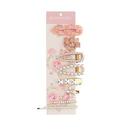 Monnalisa Haarspangen Set Accessori Capelli
