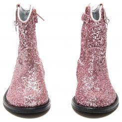 Monnalisa Stiefel Texano Glitter