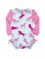 Hatley UV-Badeanzug Ponies & Polka Dots