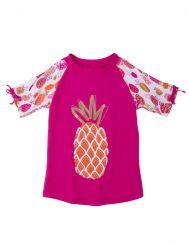 Hatley UV-Shirt Tropical Pineapple