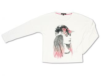 DKNY Donna Karan New York Weste Langarmshirt