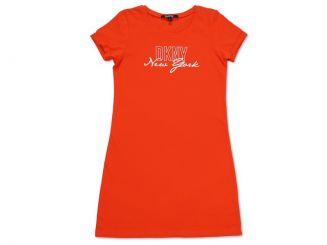 DKNY Kleid New York Rot