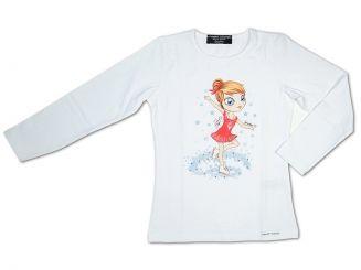 T-Shirt T-Shops Langarmshirt Girl on Ice