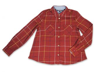 Tommy Hilfiger Bluse Windowpane Check Shirt