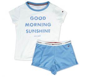 Tommy Hilfiger Schlafanzug Short Set Print