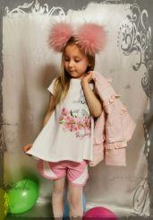 Monnalisa Tunika T-Shirt Svasata Tulipano Bugs Bunny