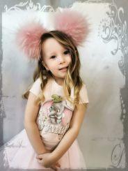 Monnalisa T-Shirt St. Romantic Rose Dumbo