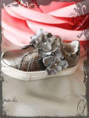 Monnalisa Schuhe Slip on Fiorellini