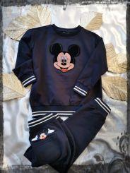 Monnalisa Pullover Felpa Classica Mickey Mouse