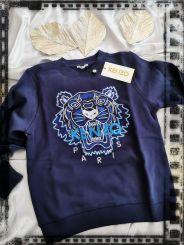 Kenzo Pullover Tiger  blau