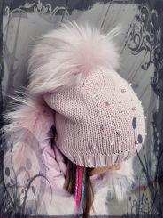 Catya Mütze Perlen