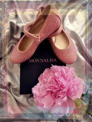 Monnalisa Ballerina Camoscio