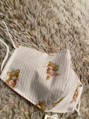 Monnalisa Schutzmaske Mund-Nasenschutz Singola Popeline Teddy