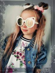 Monnalisa Sonnenbrillle Con Strass