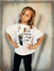 Monnalisa T-Shirt con Galette