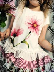 Monnalisa Tunika Maxi T-Shirt Mix Gale