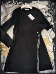 Calvin Klein Kleid Logo Punto