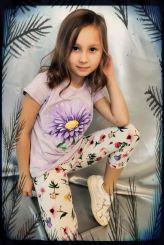 Monnalisa T-Shirt St. Flower