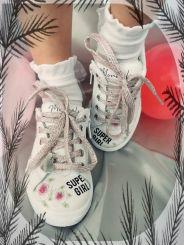 Monnalisa Sneaker Suoer Girl Daisy Duck