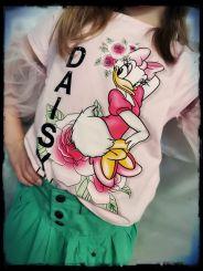 Monnalisa Maxi T-Shirt Con Gale Daisy