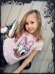 Monnalisa T-Shirt Stampa Daisy