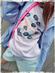 Kenzo T-Shirt Fische