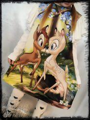 Monnalisa Kleid Abito A Trapezio Bambi
