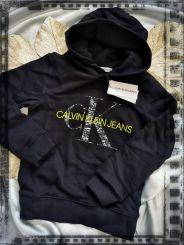 Calvin Klein Pullover Monogram Noise Hoodie