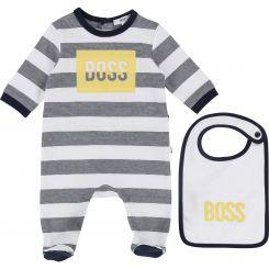 Hugo Boss Schlafoverall + Lätzchen