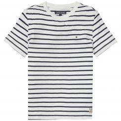 Tommy Hilfiger T-Shirt Ame Bicolor Stripe CN Tee