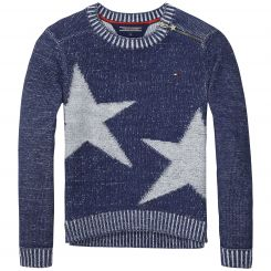 Tommy Hilfiger Strickpullover Star Plated