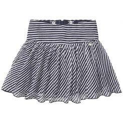 Tommy Hilfiger Rock Stripe Chiffon Skirt