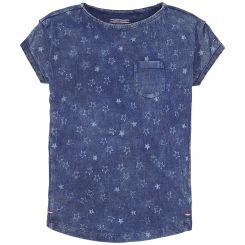 Tommy Hilfiger T-Shirt Girls Denim BN Knit