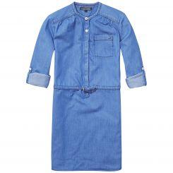 Tommy Hilfiger Kleid Drapy Indigo Dress