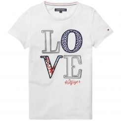 Tommy Hilfiger T-Shirt Girls Flower CN