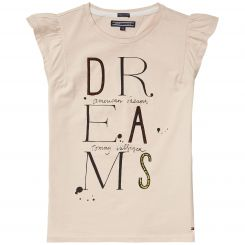 Tommy Hilfiger T-Shirt Girls Text CN